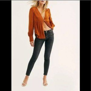 Free People Jet Low Rise Skinny Jeans NWT